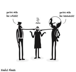 Khalid Albaih, disegnatore sudanese