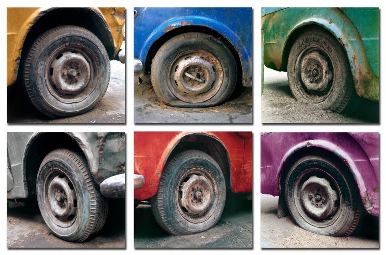 MOATAZ NASR Fiat Nasr 2006 serie di 6 C-prints 60 x 60 cm ciascuna Collezione Privata Courtesy GALLERIA CONTINUA, San Gimignano Beijing Les Moulins.