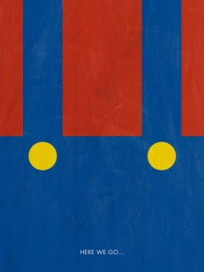 Mario, minimalist poster