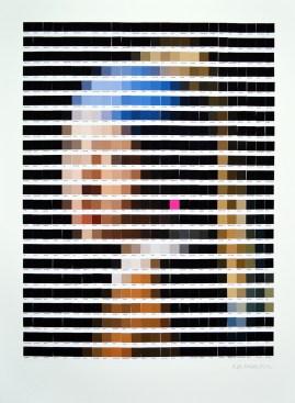 Jan Vermeer - Ragazza col Turbante / Nick Smith - Psycolourgy