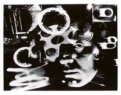 Aldo Tambellini, Black - Electromedia Performance at Black Gate, 1967 - photo by Richard Raderman