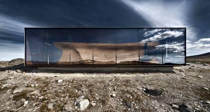 Norwegian Wild Raindeer Pavilion - Snøhetta
