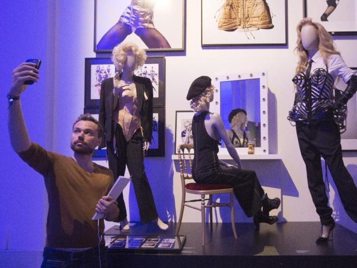 France Jean Paul Gaultier Exhibition