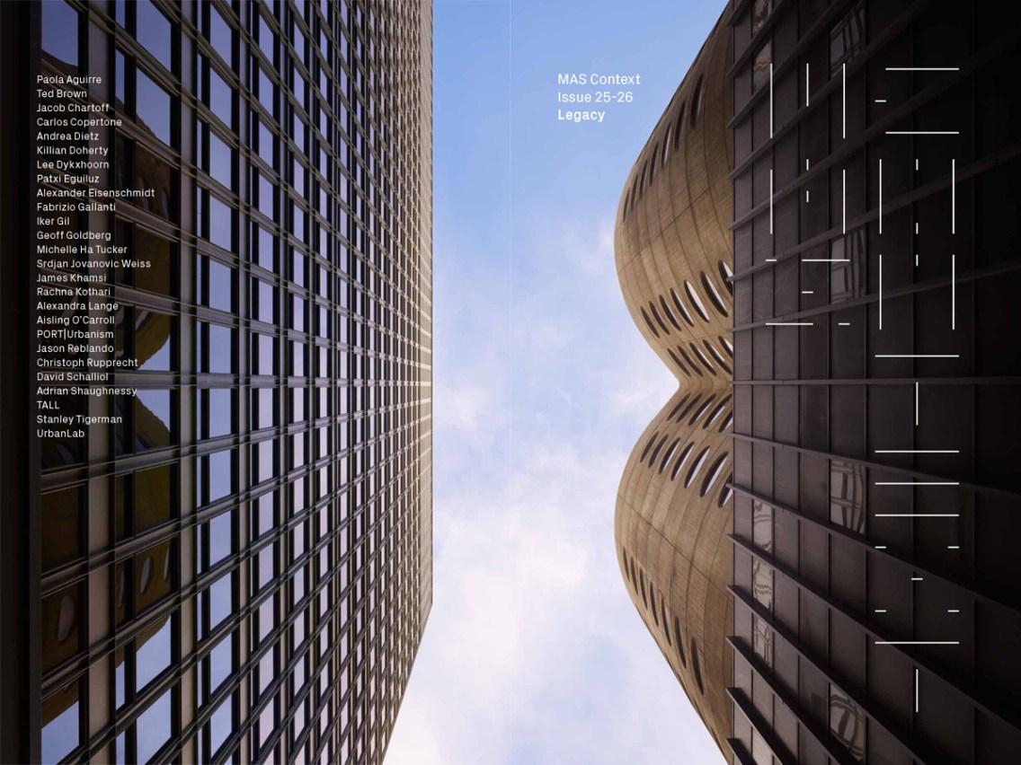MAS Context Legacy cover. Photography by Tom Harris/Hedrich Blessing, Chicago, 2015 © MAS Context