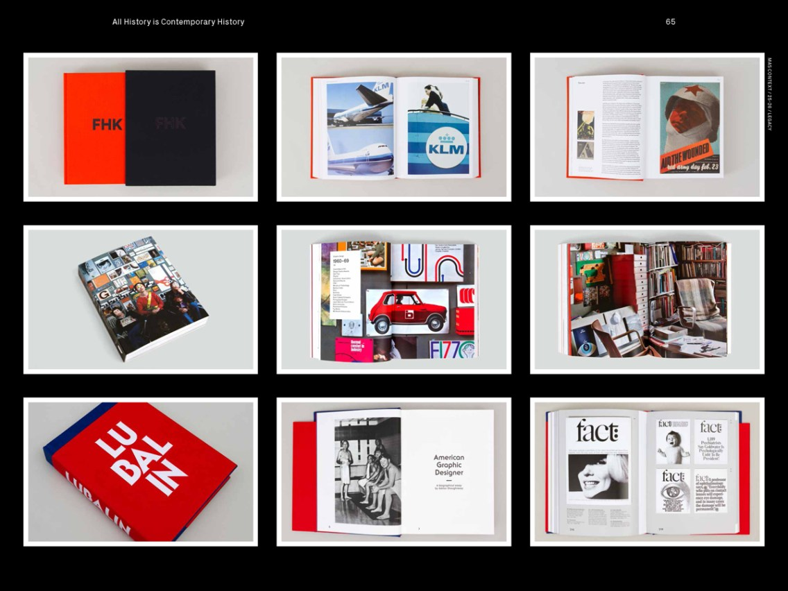 MAS Context Legacy spread. All History is Contemporary History interview with Adrian Shaughnessy © MAS Context