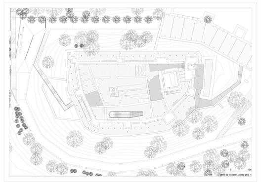 centro visitatori pombal plan