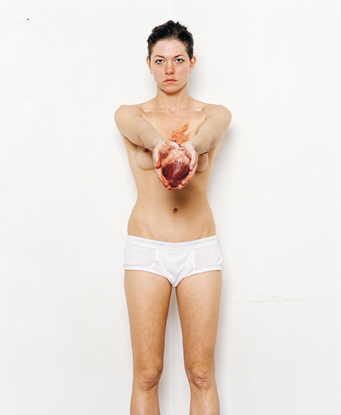 Julia Krahn - Herz Dein, 2009 © Julia Krahn