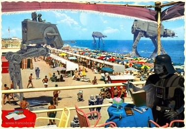 05-Franco-Brambilla-Invading-the-Vintage-Sci-Fi-Postcards-www-designstack-co