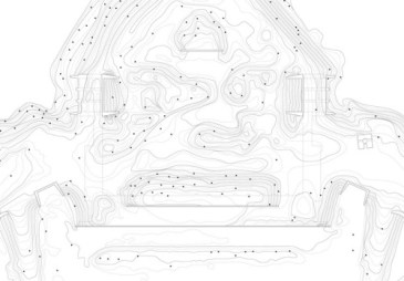 Museum Fort Vechten, first prize invited competition, competition model, Utrecht (NL) - plan