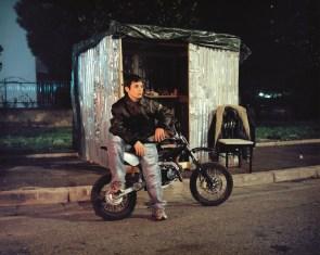 Tobias Zielony - Mini-bike - courtesy Galleria Lia Rumma
