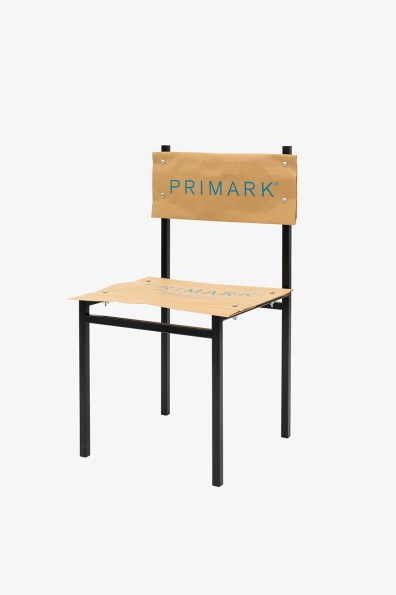 Simon Freund - shopping bag chair - Primark