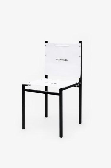 Simon Freund - shopping bag chair - Woodwood