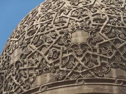 Dettaglio della Cupola del Sultano Qaytbay, Il Cairo, 1474. Ph. wikipedia.org