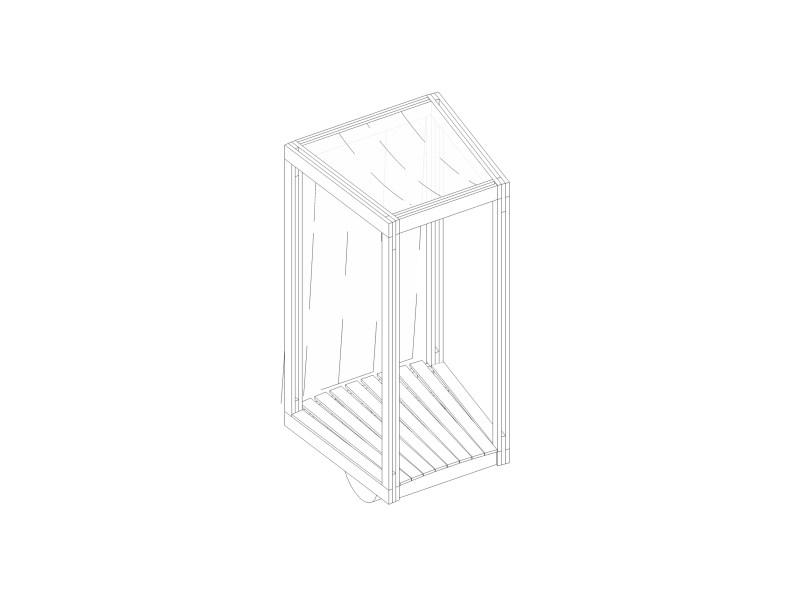 Antiroom II - drawings