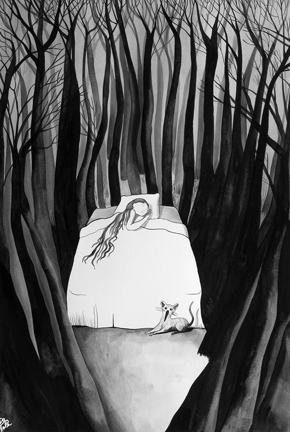 Dentro la Foresta - © Chiara Dattola da picame