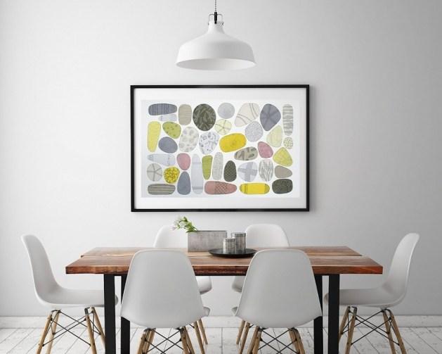 Collage Pebbles 2013 © - Francesca Lancisi