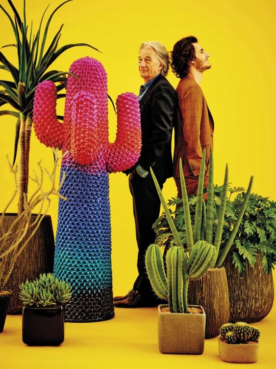Paul Smith e Charley Vezza / image by TOILETPAPER