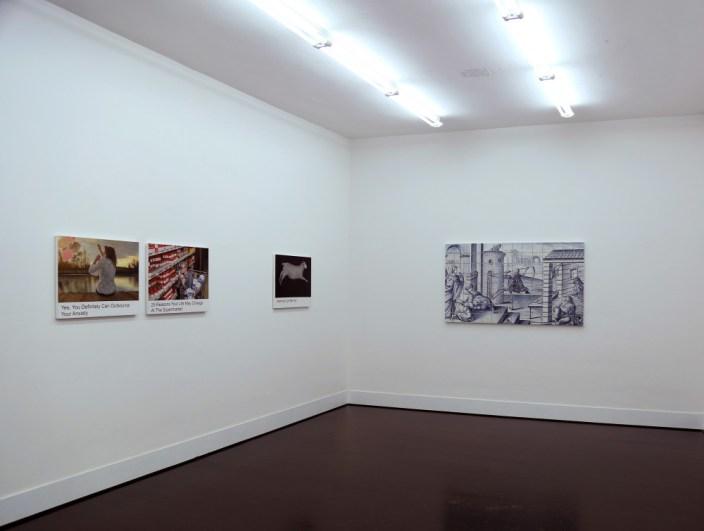 Debora Hirsch - donotclickthru - courtesy galleria Pack