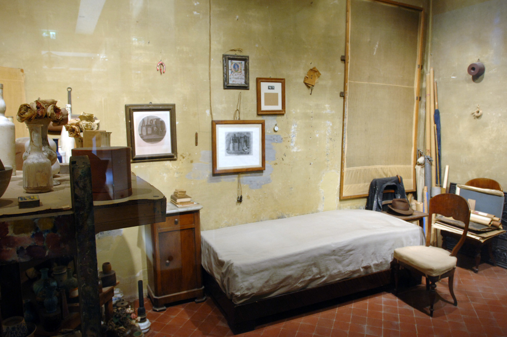 Casa del pittore Giorgio Morandi, Bologna - Roberto Serra / Iguana Press