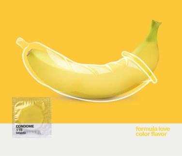 Pantone condom by DarkDesignGroup