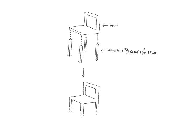 Fadeout Chair, Nendo