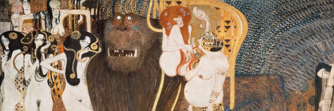 Palazzo della Secessione, Fregio di Beethoven - G.Klimt