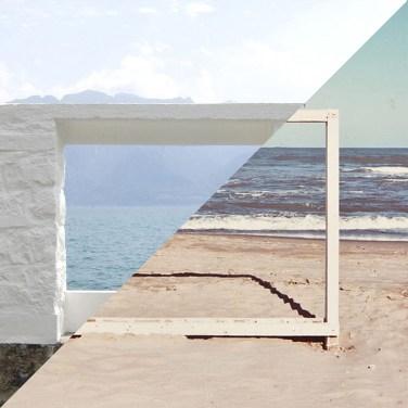 """Le Corbusier, Villa """"Le Lac"""", Corseaux/Lac Léman, 1923 VS Luigi Ghirri, Marina di Ravenna, 1986 – © Davide Trabucco, Confórmi"""