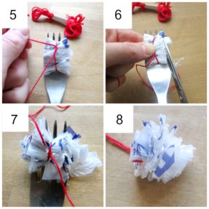 Arty Crafty Kids - Craft - Recycled Plastic Bag Flower