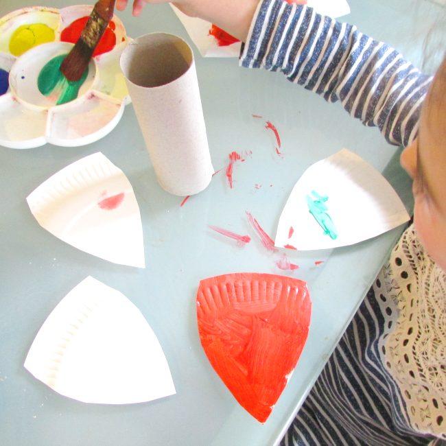 Easy Preschool Butterfly Craft
