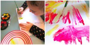 Arty Crafty Kids - Wax Resist Art