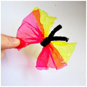 Arty Crafty Kids - Candy Wrapper Butterfly
