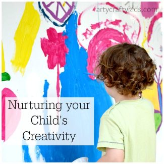Arty Crafty Kids - Articles - Nurturing your child's creativity