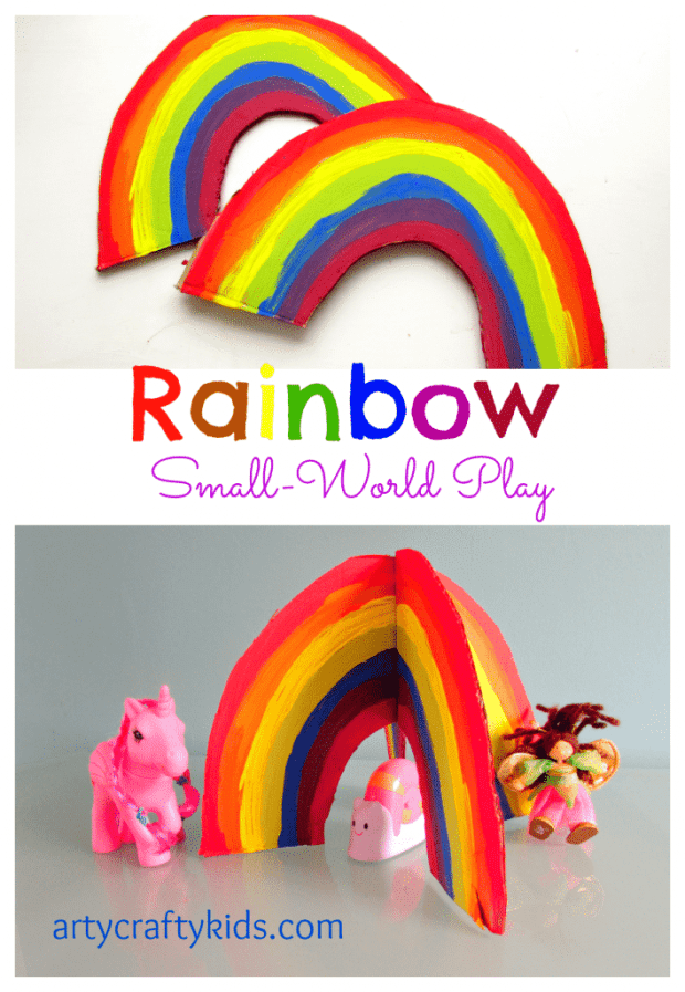 Arty Crafty Kids - Play - Rainbow Small World Play