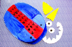 Arty Crafty Kids - Craft - Craft Ideas for Kids - Paper Plate Dinosaur
