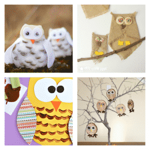 Arty Crafty Kids - Craft - Craft Ideas for Kids - 25 Owl Crafts for Kids