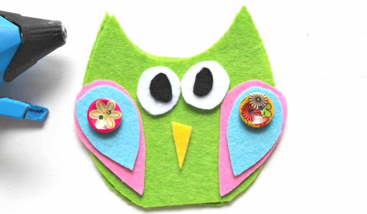 no sew felt owl finger puppets arty crafty kids