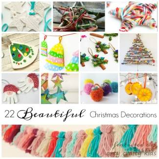 Arty Crafty Kids - Seasonal - 22 Simple Christmas Decorations