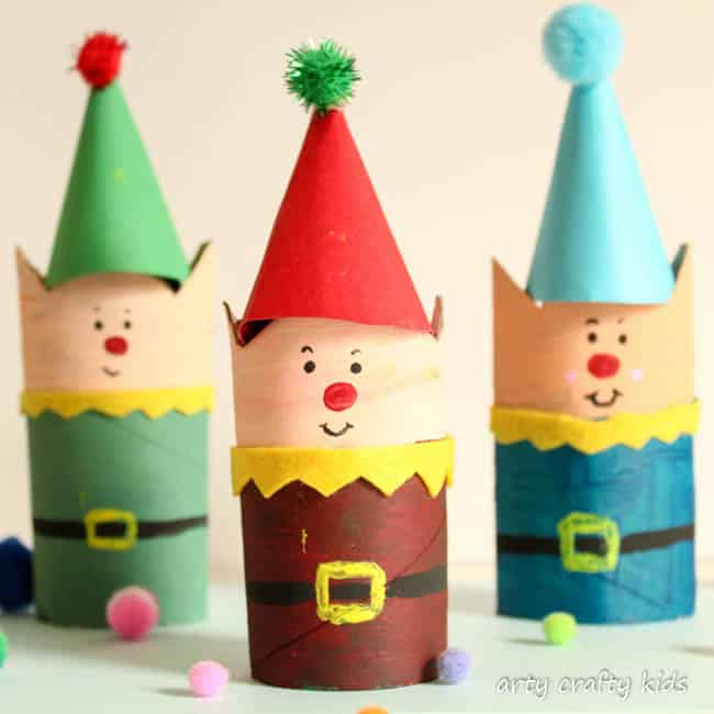 Tissue Paper Crafts For Winter And Christmas