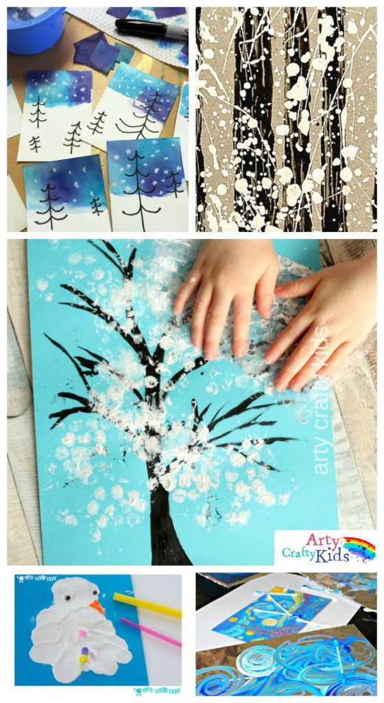 14 Wonderful Winter Art Projects For Kids