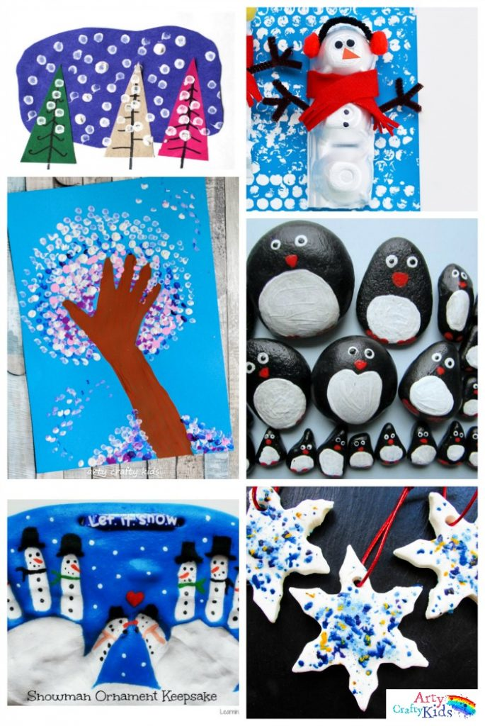 Art And Craft Activities For Kids: 16 Easy Winter Crafts For Kids