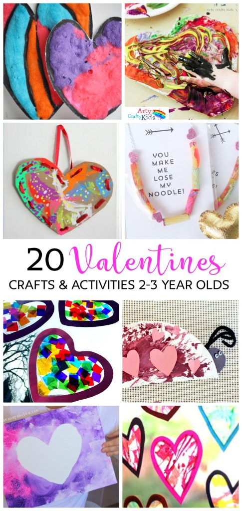 arty crafty kids valentines 20 valentines preschool crafts activities do able - Valentines Preschool Crafts