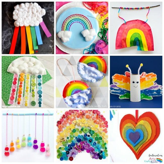 Rainbow Crafts Crafting