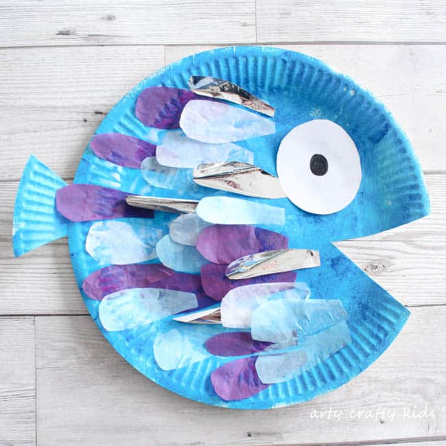 Ordinary Fish Craft Ideas For Kids Part - 14: Arty Crafty Kids | Book Club | Craft Ideas For Kids | The Perfect Fish Craft
