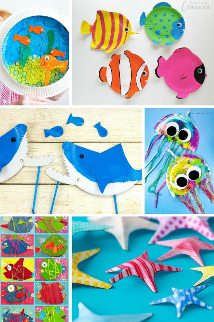 Under the Sea Crafts for Kids - Arty Crafty Kids