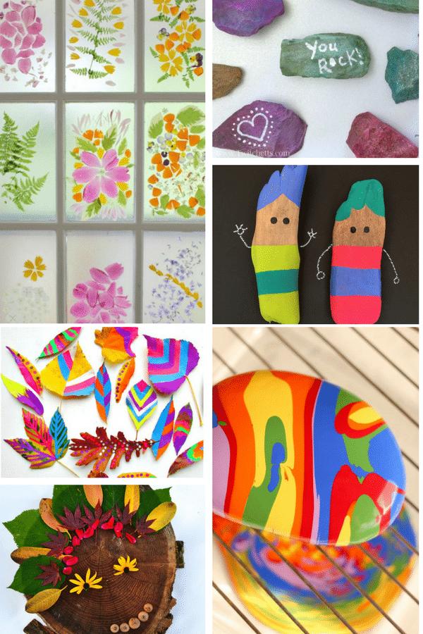 Arty Crafty Kids | Art | Bold Beautiful Nature Ideas Art for Kids | 24 Stunning art nature art projects for kids!