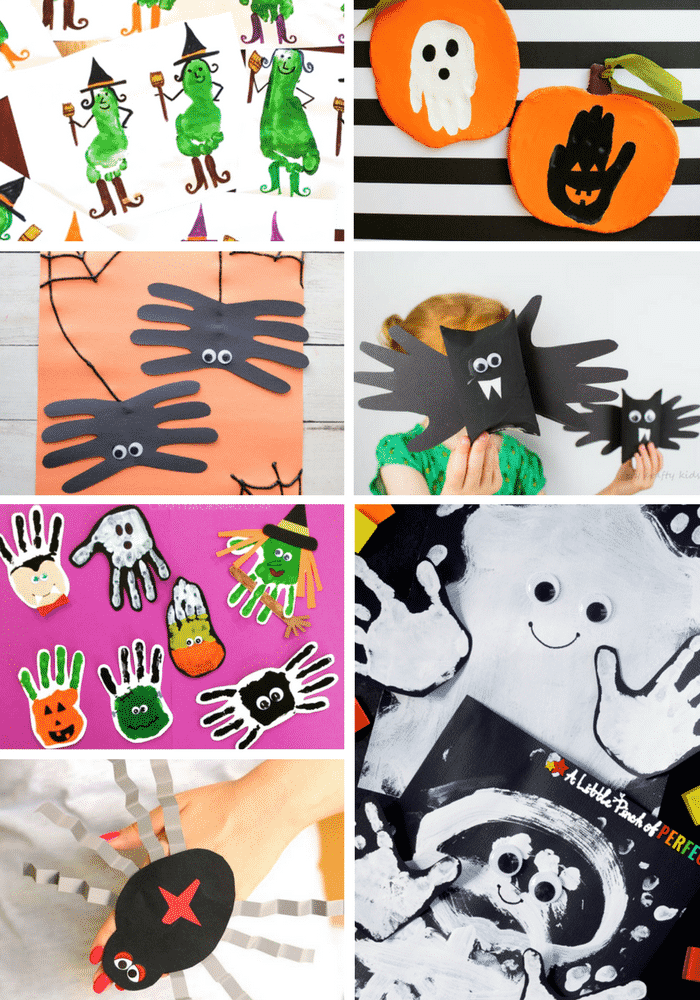 Arty Crafty Kids | Halloween Crafts for Kids | 32 Kid-Friendly Halloween Crafts - A super fun collection of easy, fun and cute halloween themed crafts for young children