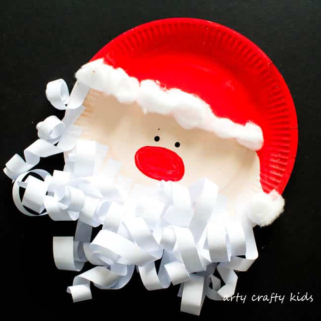 Paper Plate Santa Claus Arty Crafty Kids