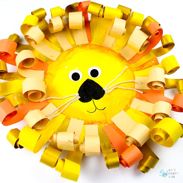 Arty Crafty Kids | Craft | Curly Paper Plate Lion Craft  sc 1 st  Arty Crafty Kids & Curly Paper Plate Lion Craft - Arty Crafty Kids