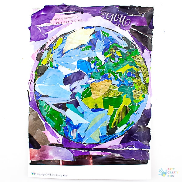 Arty Crafty Kids Earth