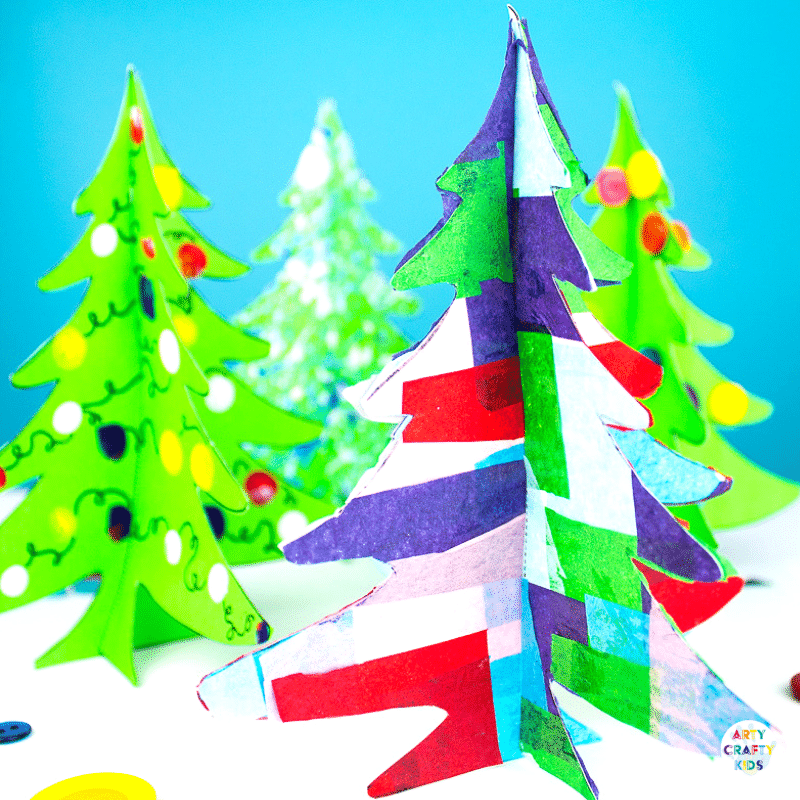 3d Printable Christmas Tree Craft Arty Crafty Kids